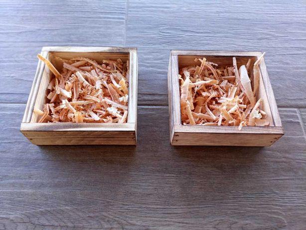 Skrzynka drewniana ozdobna donica prezent ozdoba