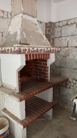 Churrasqueira em tijolo para desocupar