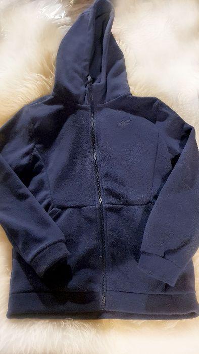 Bluza polarowa z kapturem 4F jak nowa - wzrost z metki 158 Kraków - image 1