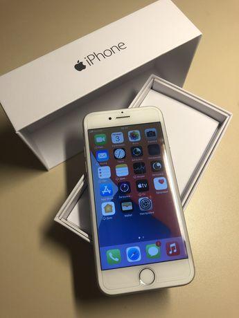 Iphone 7 128gb silver neverlock, состояние нового