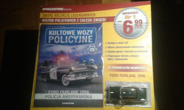 Kultowe wozy policyjne Deagostini nr 1 - Ford Fairlane