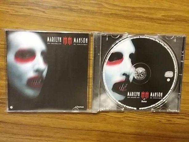 CD диски Marilyn Manson, Guns N' Roses, Lenny Kravitz, Kingdom Come