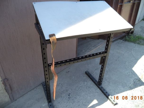 Стол металлический, раскройный/закройный, для кожи