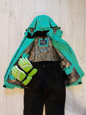 Горнолыжный костюм Freever. Куртка и штаны горнолыжные.