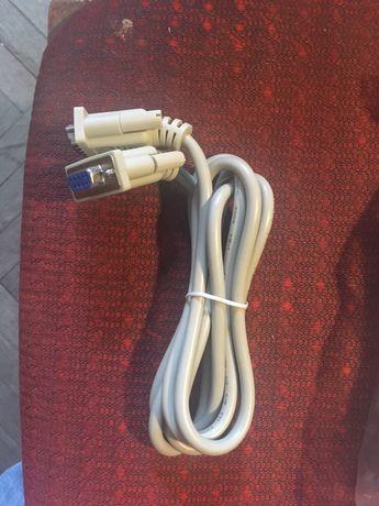 Удлинитель кабель COM порта 1,5м DB9