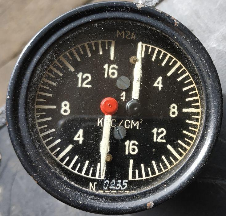 Манометр авіаційний двухстрілочний М2А (2 шт) Сарны - изображение 1