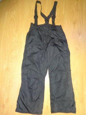 Теплые штаны полу комбинезон 7-8-9 лет