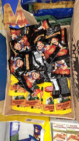 Горішки клоун та пірат орехи шоколад