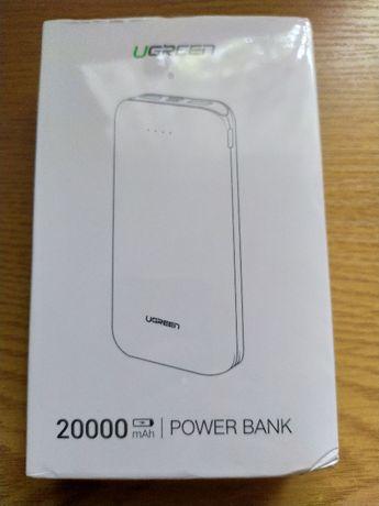 NEW!!! Power Bank Ugreen 20000мАч PD/QC3.0 повербанк
