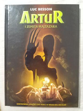 Książka Artur i zemsta Maltazara
