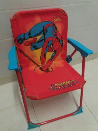 Cadeira praia criança