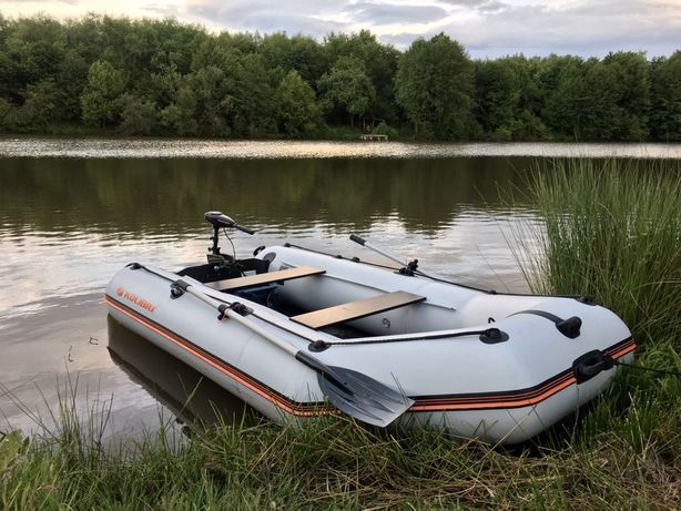 Продам лодку kolibri 330 з мотором