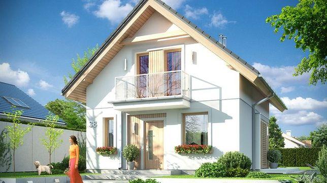 Dom w stanie surowym KRAKÓW-Swoszowice 80m2