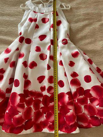 Нарядное платье Mayoral рост 140 см (на девочку 8-10 лет)