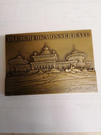 Medalha bronze palácio de Monserrate