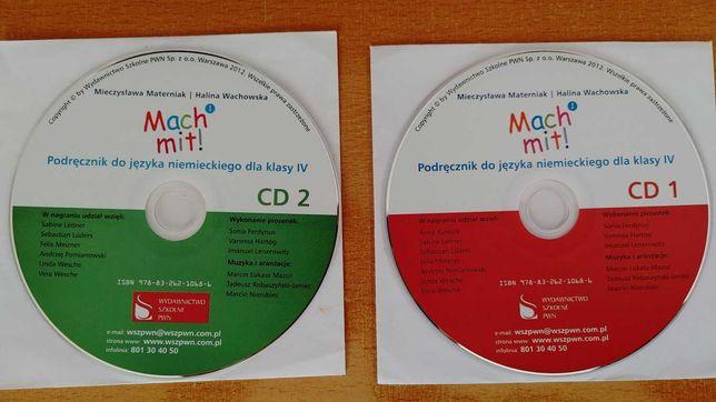 Mach mit! płyty CD klasa IV