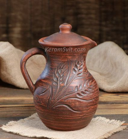 Кувшины глиняные Глечики керамічні Крынки керамические Посуда гончарна