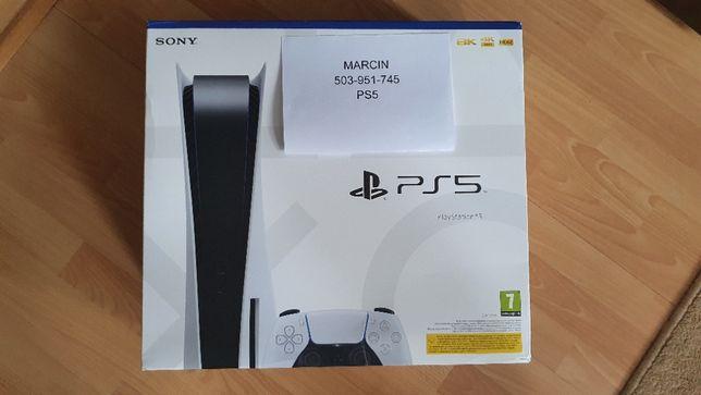 Konsola Playstation 5 z napędem + 1xPad. Nie czekaj, PS5 od ręki