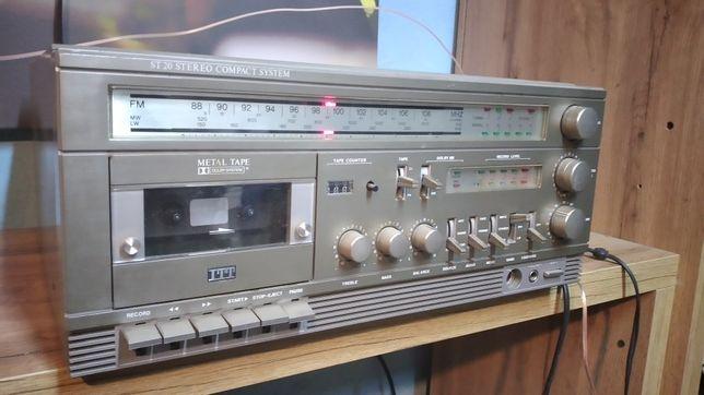 Klasyk ITT ST20 ,amplituner ,wzmacniacz Vintage, kolekcjonerski