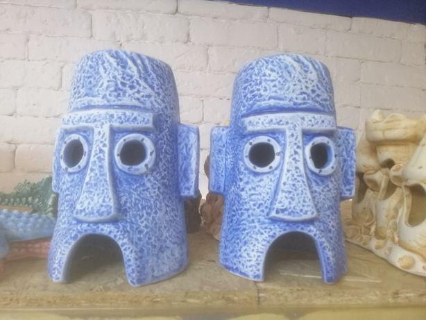 Керамические декорации для аквариума