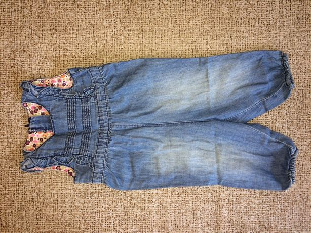 Комбинезон, румпер джинсовый H&M