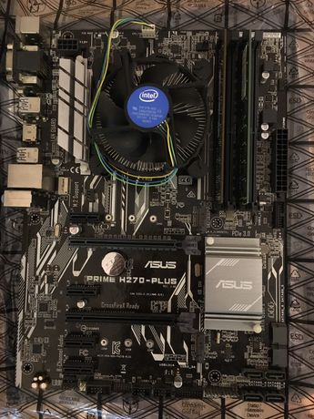 Комплект Asus Prime H270-Plus, Celeron G3900 8gb ddr4 ram