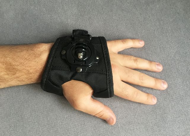Opaska uchwyt na dłoń nadgarstek do GoPro - NOWA