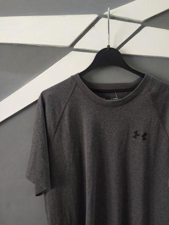 Темносерая футболка для заняття спортом Under Armour