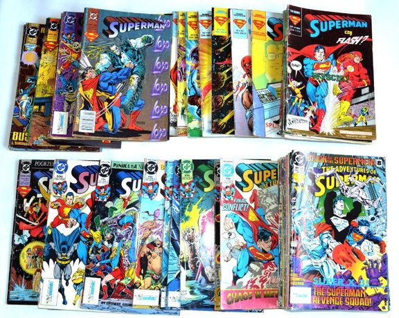 Superman komiksy dużo na sztuki wysyłka tm-semic egmont i inne