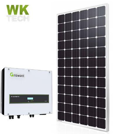 Cały zestaw fotowoltaiczny 6 kW Fotowoltaika Promocja ! Kompletny