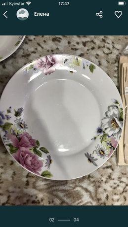 Тарелки, набор, посуда