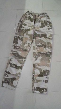 spodnie moro chłopiec 152 reserved