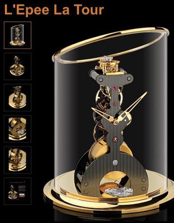 НОВЫЕ! Настольные швейцарские часы L'epee