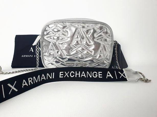 NOWA Torebka Armani Exchange (srebrna)