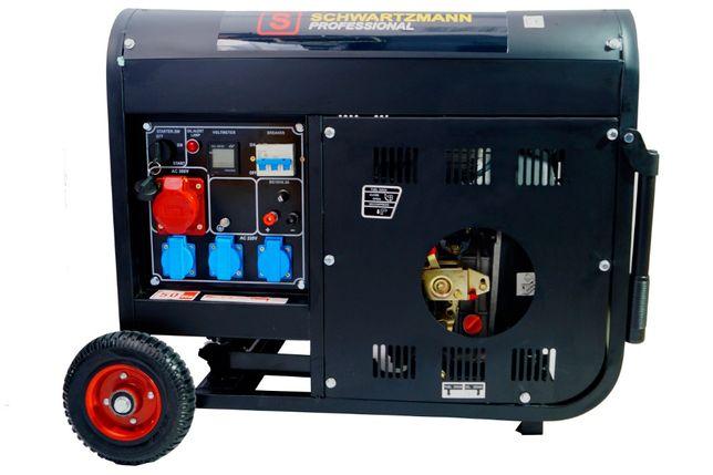 Agregat PrądOTWÓRCZY Diesel 8kw Mocy - Nowy- Gwarancja - Wysyłka 160