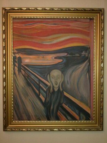 "Obraz ""KRZYK"". Kopia obrazu E. Muncha"