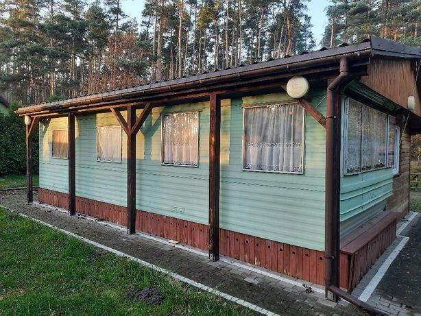 Domek Letniskowy z dobudówka i zadaszeniem, bez dzialki.