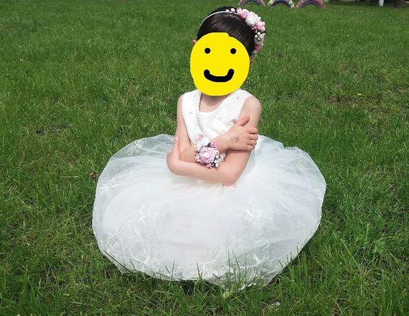 Пышное платье на праздник выпускной