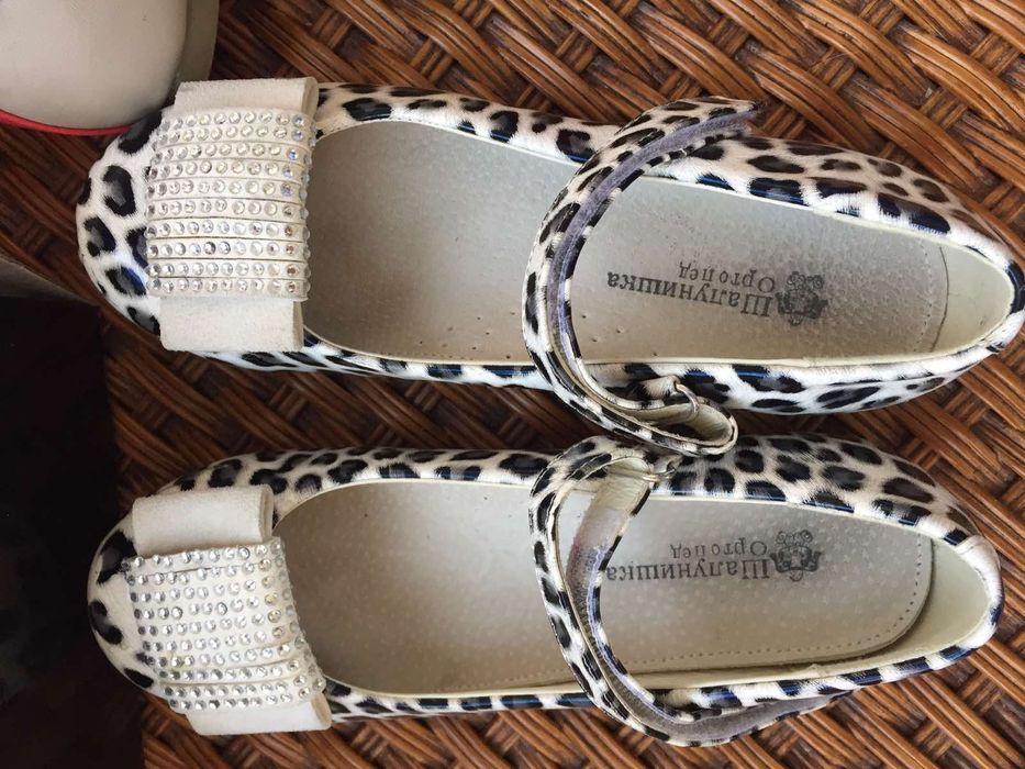 Туфли лак и кожа, как новые . Размер 32. Киев - изображение 1