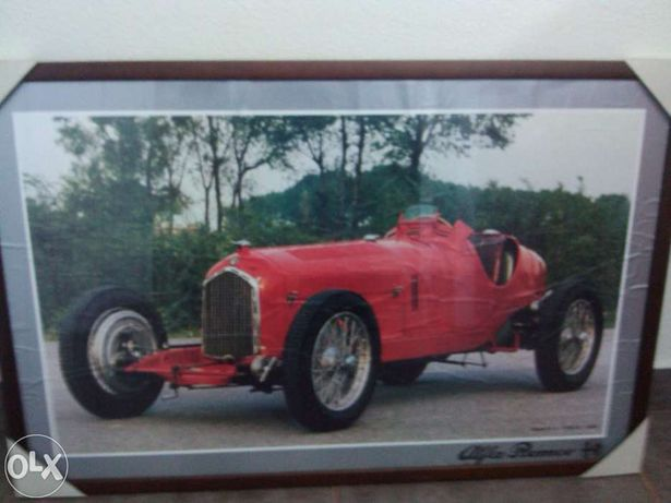 Quadro de parede Alfa Romeo 90x60 cm