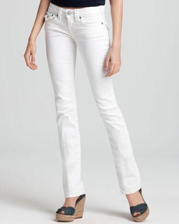 True Religion białe spodnie damskie 29 - nowe