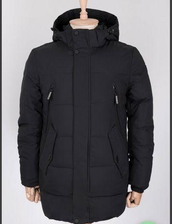 Куртка теплая зимняя мужская новая