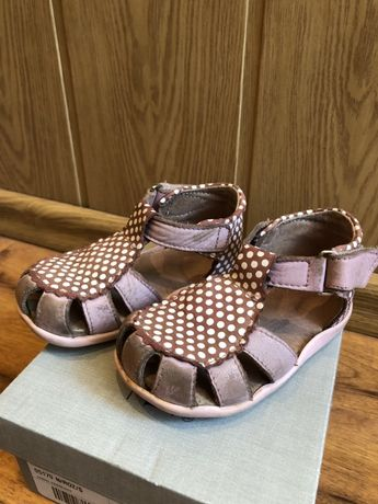 Sandały sandałki skórzane kornecki 21