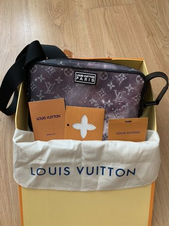 Louis Vuitton Alpha Messenger Monogram Galaxy Black Multicolor