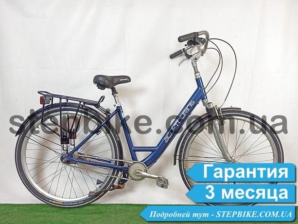 Велосипед Городской Алюминиевый Планетарка из Германии Sach All-tourng