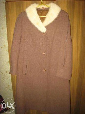 пальто женское зимнее р 52