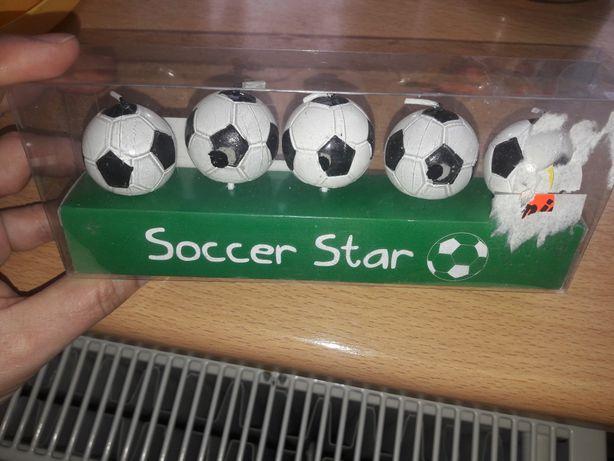 Świeczki piłka nożna