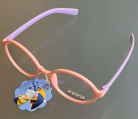Детские имиджевые очки для девочки