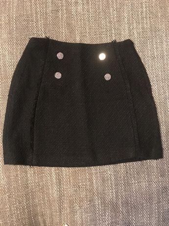 Твидовая юбка Mango