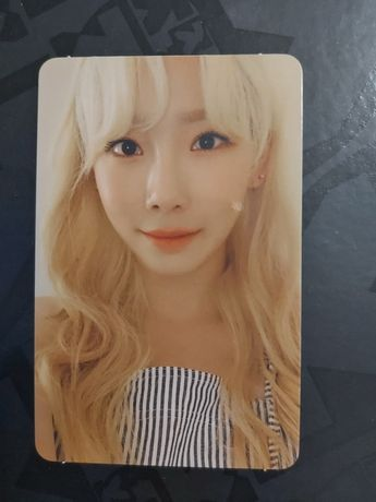 Taeyeon Purpose Deluxe edition kpop photocard